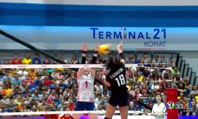 วอลเลย์บอลสาวไทยเอาชนะเกาหลีใต้  3-2 เซต แมทช์แรก โคเรีย-ไทยแลนด์ โปร วอลเลย์บอล ออล สตาร์ ซูเปอร์ แมตช์ | The Thaiger