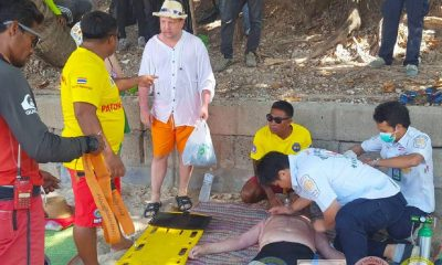Russian tourist rescued off Patong Beach | The Thaiger