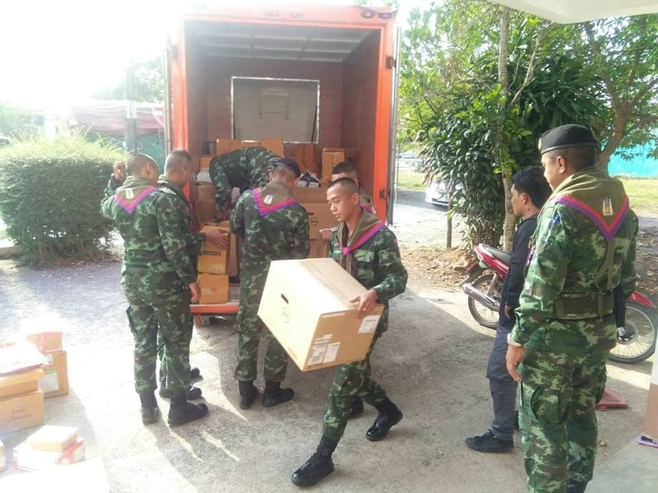 Four kilograms of marijuana found in delivery pickup in Nakhon Si Thammarat | The Thaiger