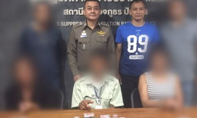 Three suspects arrested with drugs in Patong   The Thaiger