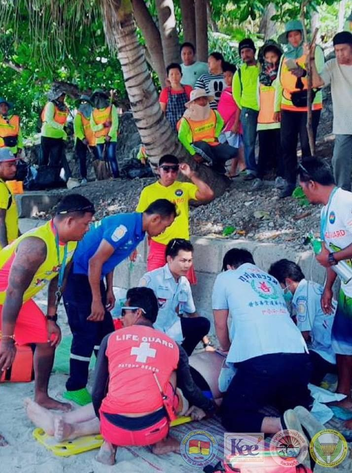 Russian tourist rescued off Patong Beach   News by The Thaiger