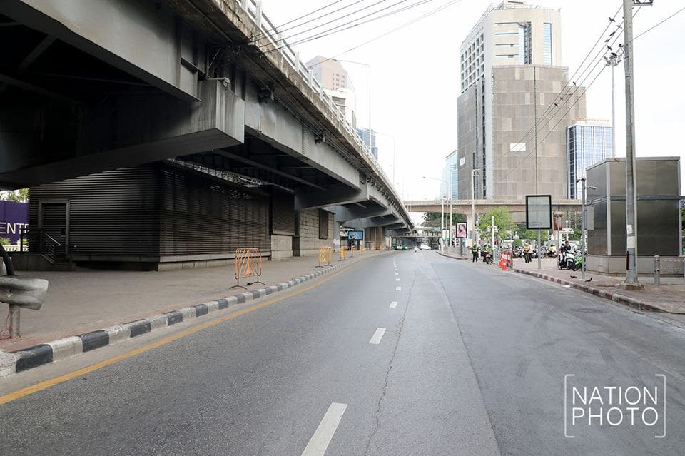 Bangkok hit by zombie apocalypse? Songkran 2019. | News by The Thaiger