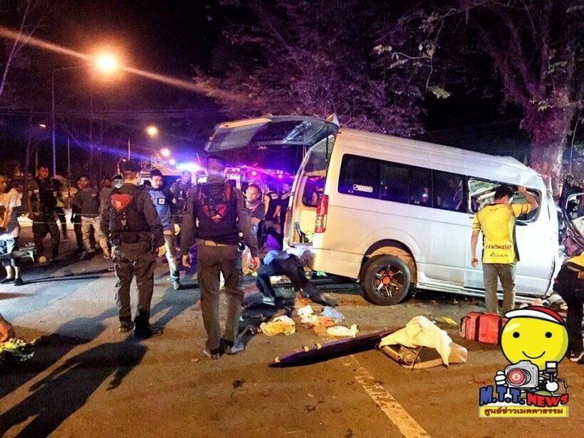 Four dead in Narathiwat minivan accident – PHOTOS | The Thaiger