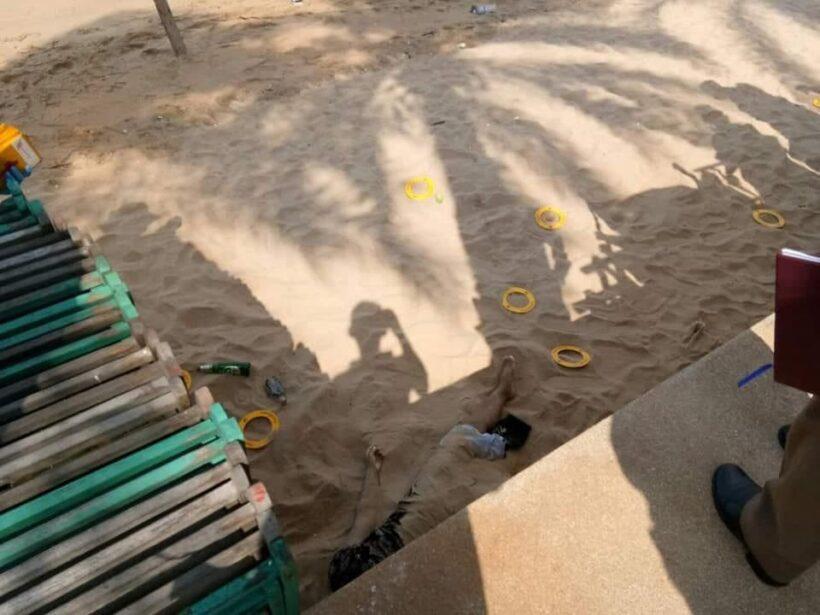 พบศพสาวใหญ่ เปลือยท่อนล่างหน้าหาดจอมเทียน หนุ่มใหญ่ต้องสงสัยอ้างสาวช็อกไปเองขณะเล่นจ้ำจี้ | News by The Thaiger