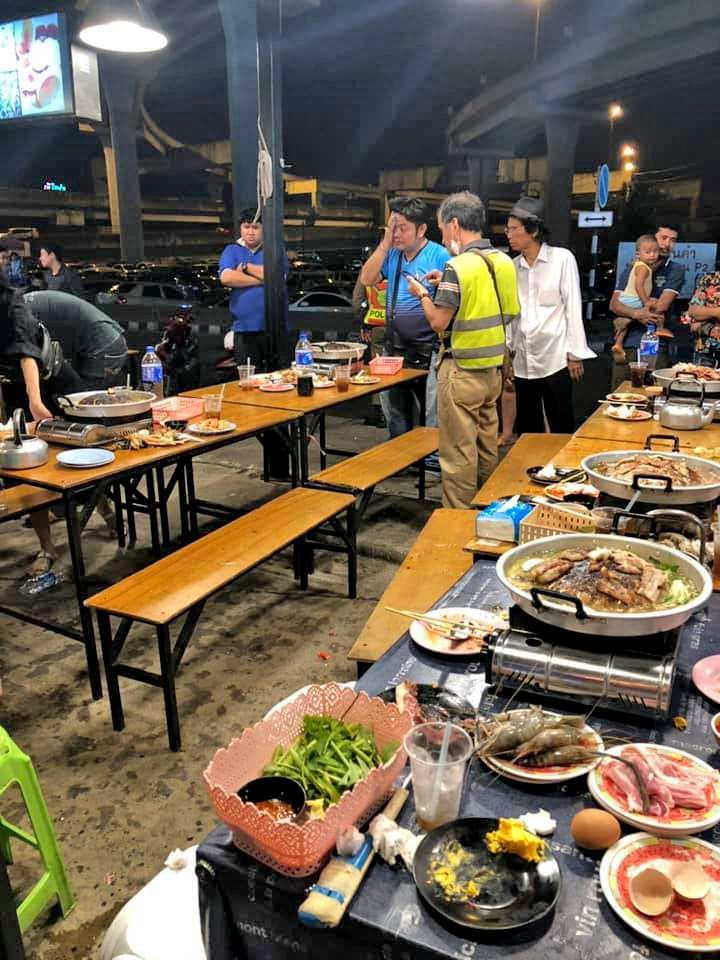 Thai suki restaurant customer injured as gas cooker explodes | News by The Thaiger