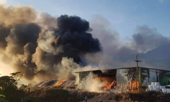 Massive fire at Koh Samui incinerator – VIDEO   The Thaiger