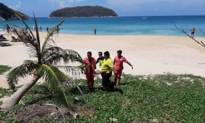 Man drowns after being washed off rocks in Rawai   The Thaiger