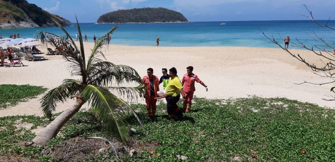 Man drowns after being washed off rocks in Rawai | The Thaiger