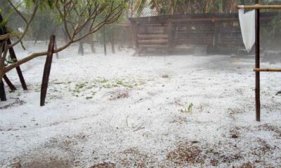 นึกว่าหิมะ! ภาพลูกเห็บขาวโพลนเกลื่อน หลังพายุฤดูร้อนถล่มเชียงใหม่   The Thaiger