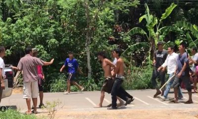 Man arrested after slashing 82 year old woman in Krabi | The Thaiger