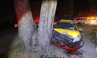 Phuket taxi slams into tree in Phattalung | The Thaiger