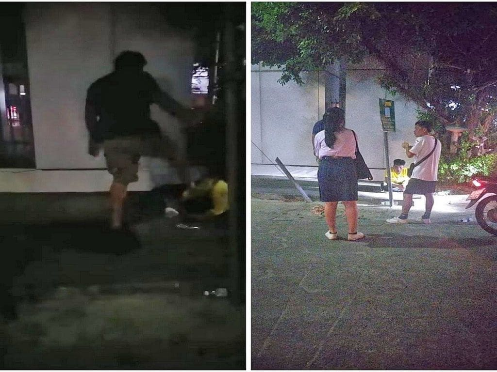 Father tramples man after he touched his daughter's bottom in Bangkok | The Thaiger