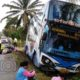 49 passengers on Bangkok-Phuket bus as it skids off road in Surat Thani | The Thaiger
