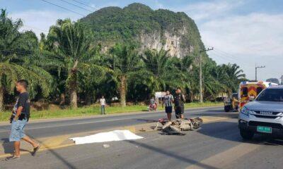 Woman dies, girl injured in Krabi collision – VIDEO | The Thaiger