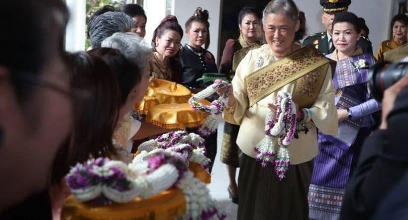 Princess celebrates Songkran at Laos mission in Bangkok   News by Thaiger