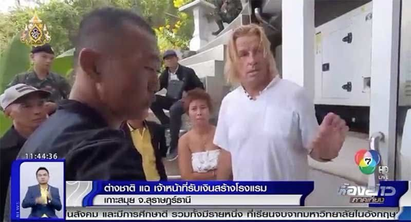 German hotelier claims he paid 800,000 baht bribe to operate his unlicensed villa on Samui | News by The Thaiger