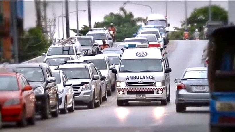Ambulances must not exceed 80kph, except in emergencies | The Thaiger