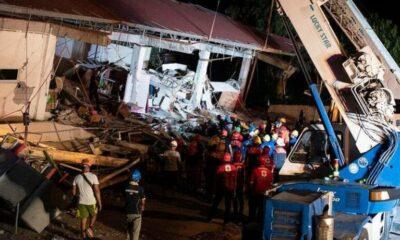 อัปเดตแผ่นดินไหวฟิลิปปินส์ เขย่าตึกถล่ม ตายแล้ว 8 ศพ | The Thaiger