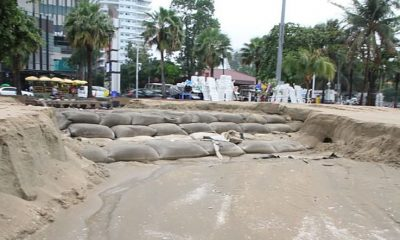 Pattaya's wide new beaches have been washed out to sea | The Thaiger