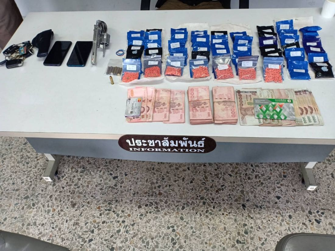 Man arrested with 10,000 methamphetamine pills in Thalang checkpoint | News by The Thaiger