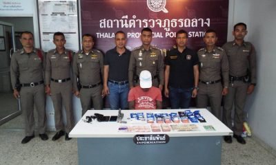 Man arrested with 10,000 methamphetamine pills in Thalang checkpoint   The Thaiger