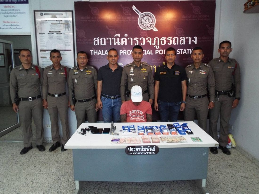 Man arrested with 10,000 methamphetamine pills in Thalang checkpoint | The Thaiger