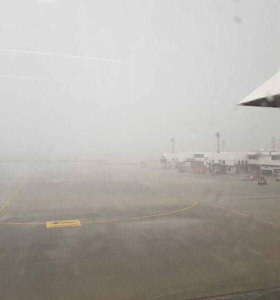 Freak storm batters Don Mueang Airport, Bangkok | The Thaiger
