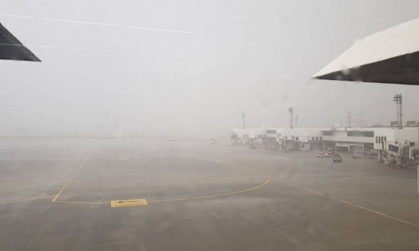 Freak storm batters Don Mueang Airport, Bangkok | The Thaiger