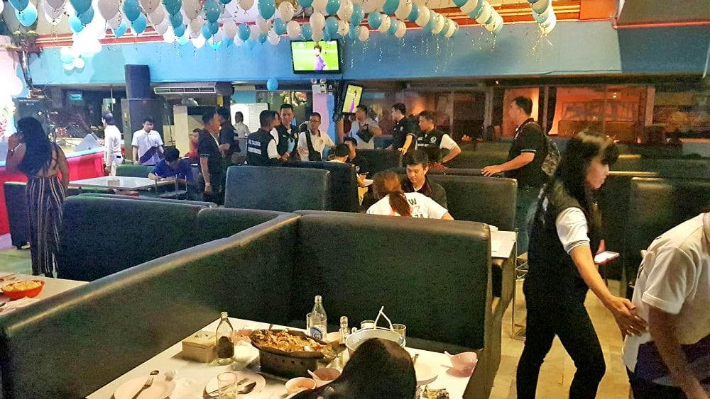 Six arrested for drug use after raid on illegal Bangkok pub | News by The Thaiger