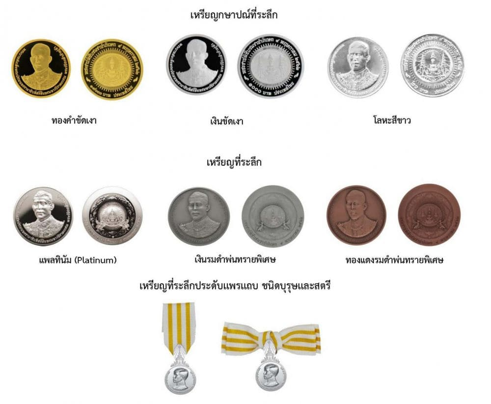 3.6 million coronation souvenir coins ordered | News by The Thaiger