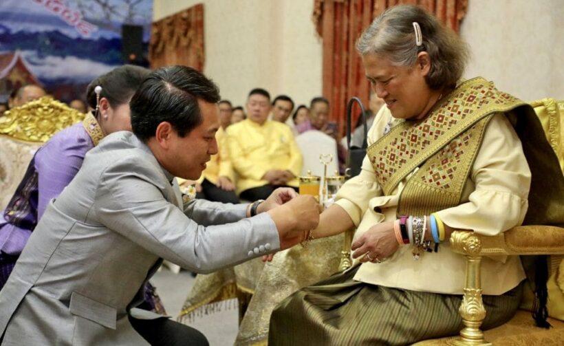 Princess celebrates Songkran at Laos mission in Bangkok   The Thaiger