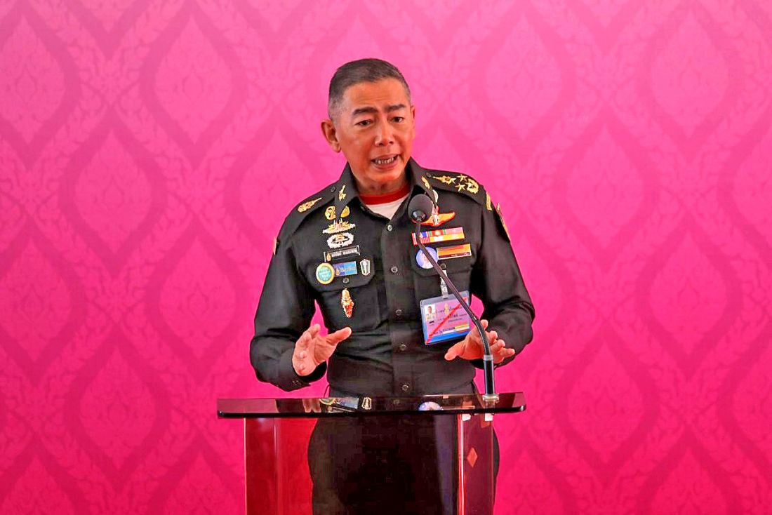 Army chief steps into the political fray again | The Thaiger