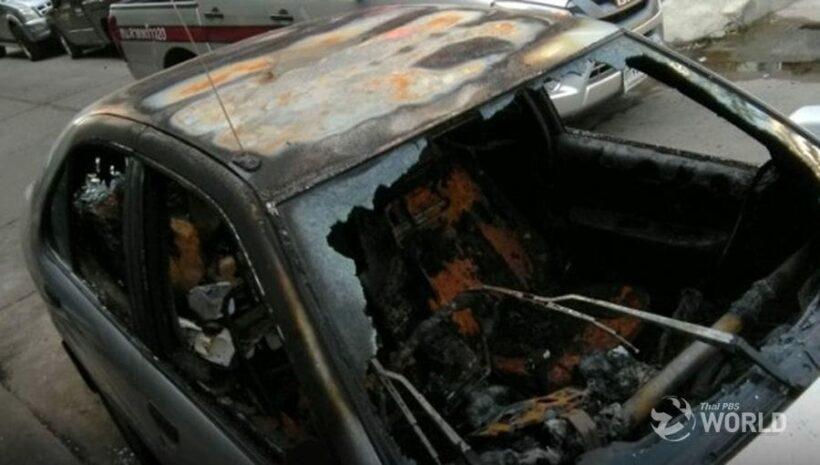 Activist's car torched – Election Commission impeachment petition damaged | The Thaiger