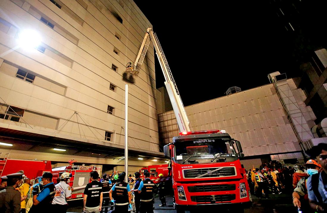 UPDATE: 2 confirmed dead, 20 injured in Central World Bangkok fire | The Thaiger