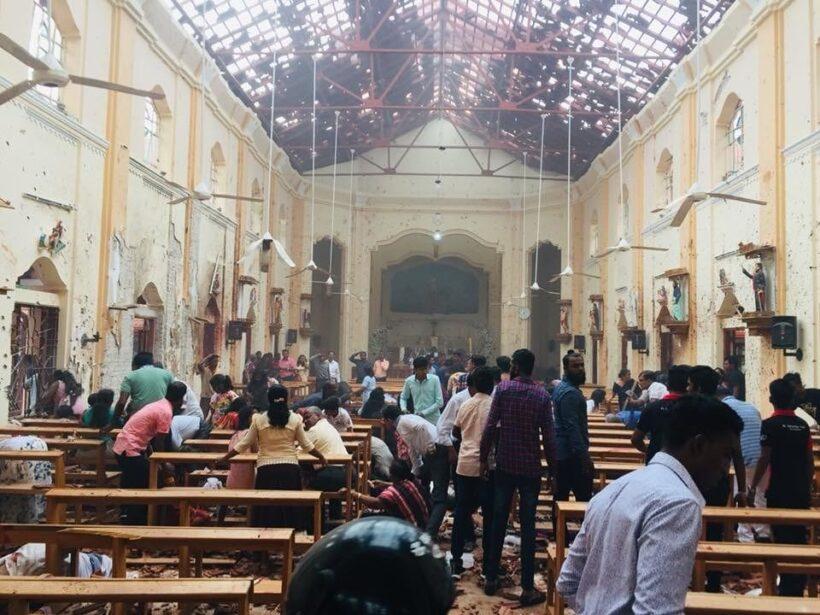 อัปเดตล่าสุด : ระเบิดโบสถ์-โรงแรมศรีลังกา 8 แห่ง ตายอย่างน้อย 158 ราย | The Thaiger