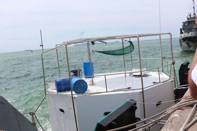 ทัพเรือภาคที่ 3 แถลงความสำเร็จย้ายบ้านลอยน้ำเข้าฝั่ง เตรียมขอหมายจับ | News by The Thaiger