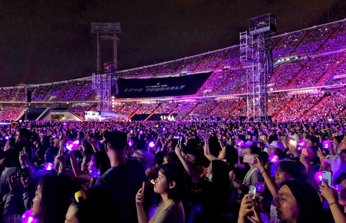 BTS conclude their record-breaking Love Yourself world tour in Bangkok | News by Thaiger