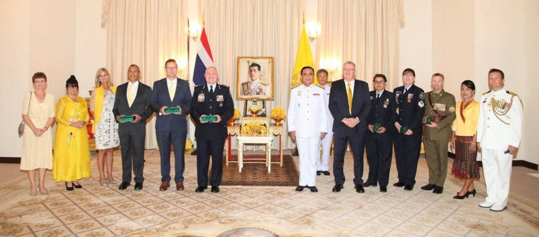 Australian Tham Luang cave divers receive prestigious Thai awards | News by The Thaiger