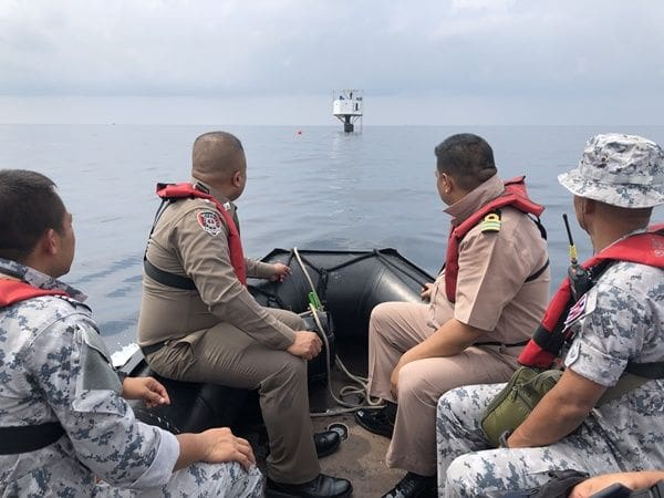 Navy files report against 'seasteading' structure off Phuket | News by The Thaiger