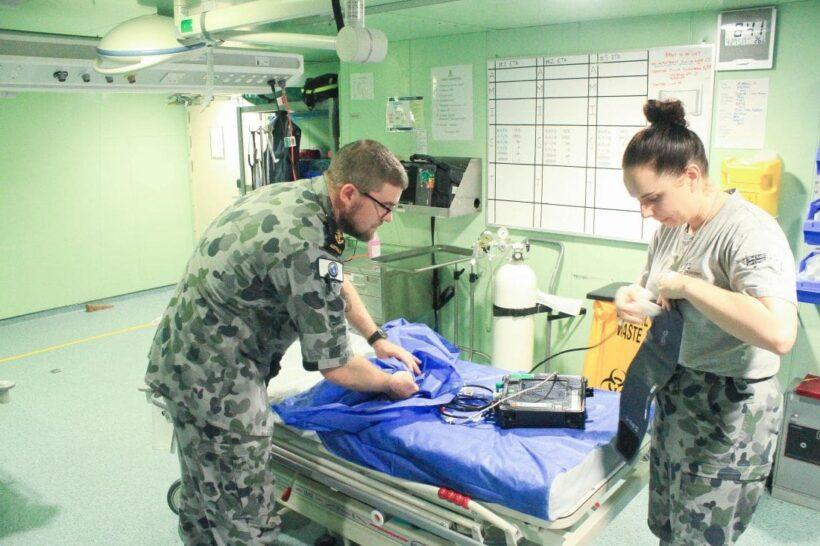 Australian navy ship HMAS Canberra visits Phuket for maritime exercises   News by Thaiger