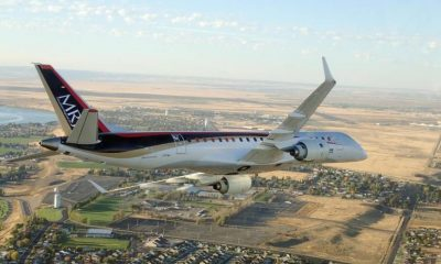 Mitsubishi testing their new regional jet | The Thaiger