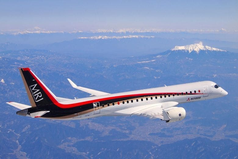 Mitsubishi testing their new regional jet | News by The Thaiger