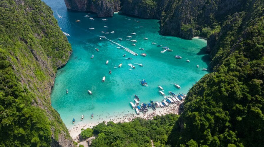 Maya Bay to be closed for up to five years | The Thaiger