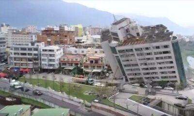 ด่วน ไต้หวันแผ่นดินไหว ขนาด 6.1 สะเทือนไทเป รถไฟฟ้าใต้ดินหยุดวิ่ง | The Thaiger