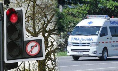 สธ.ห้ามรถพยาบาลใช้ความเร็วเกิน 80 กม.ต่อ ชม. ห้ามฝ่าไฟแดงทุกกรณี | The Thaiger
