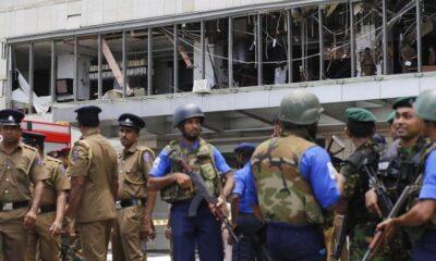 จับ 24 ผู้ต้องสงสัยคดีระเบิดศรีลังกา 8 แห่ง ตาย 290 เจ็บ 500   The Thaiger