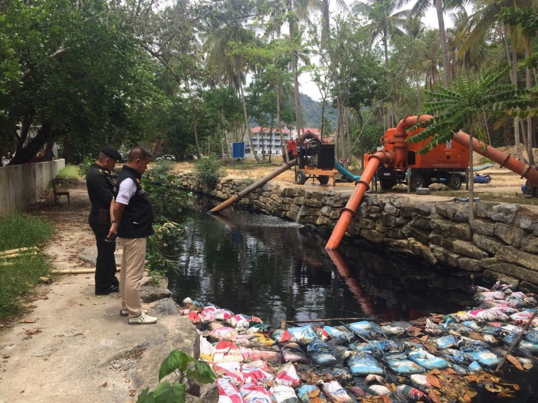 Royal foundation helps solve wastewater problems in Ao Nang | News by The Thaiger