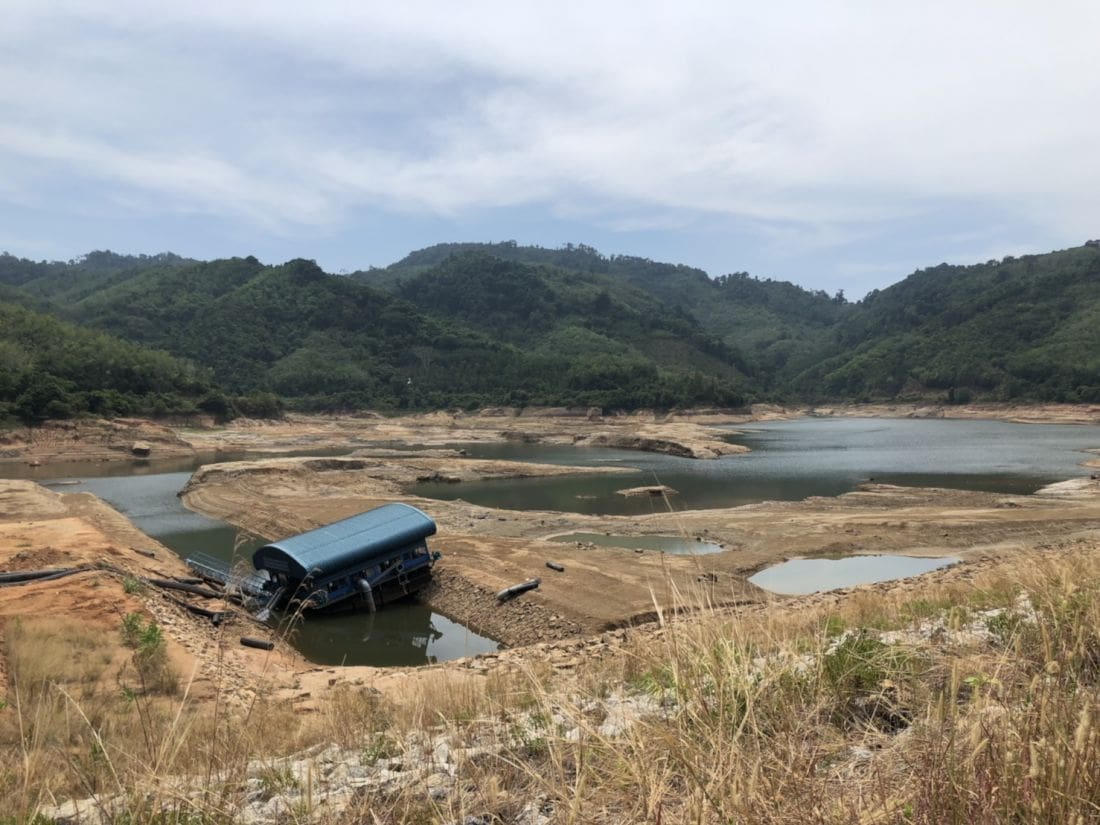 Phuket's water supply scraping the bottom of the three dams | The Thaiger