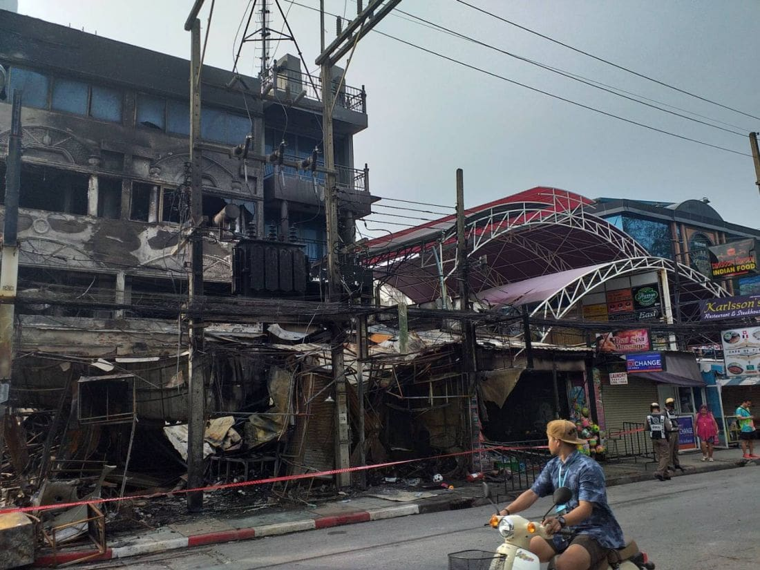 60 million baht in damages as investigations continue into Patong fire – VIDEO | The Thaiger