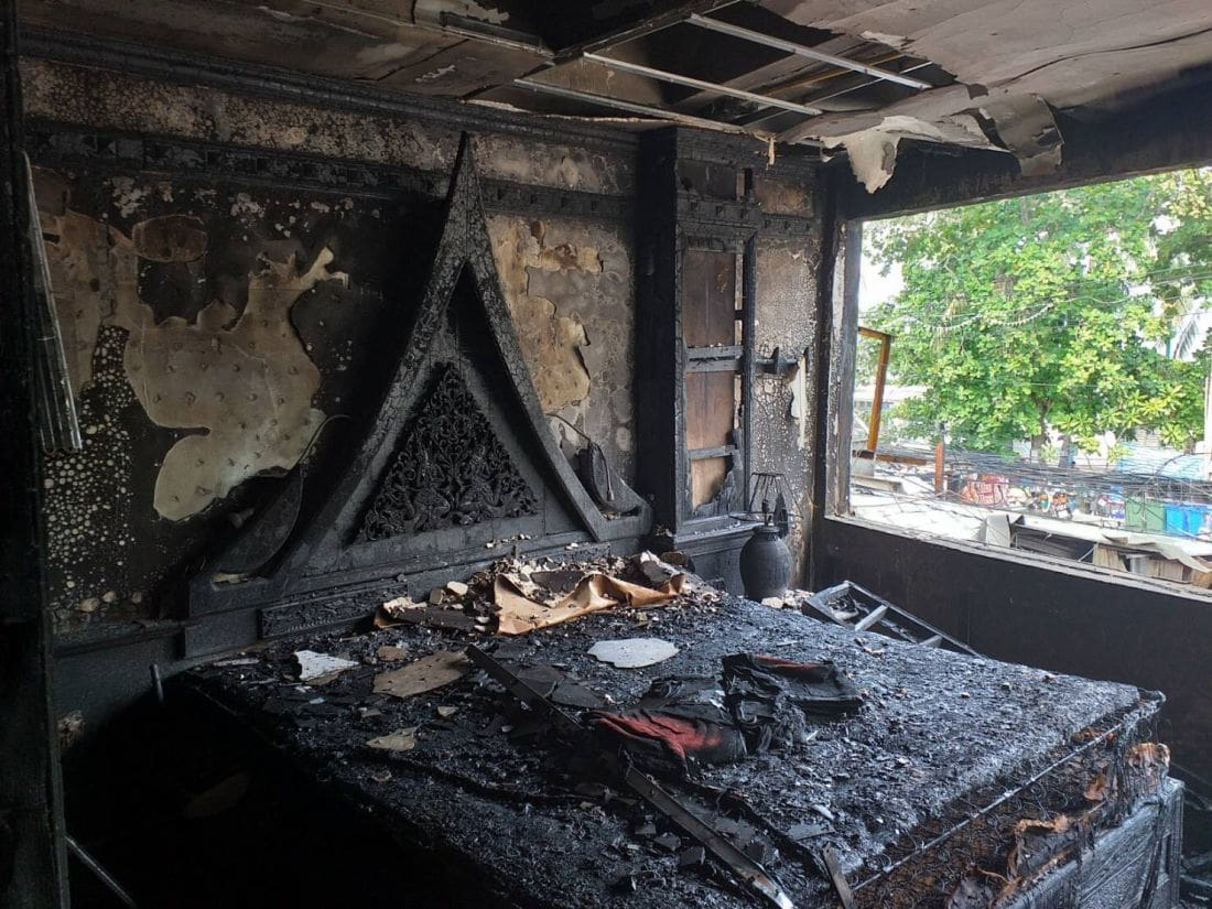 60 million baht in damages as investigations continue into Patong fire - VIDEO | News by The Thaiger